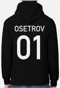 SnowScoot Russia Hoodie Name